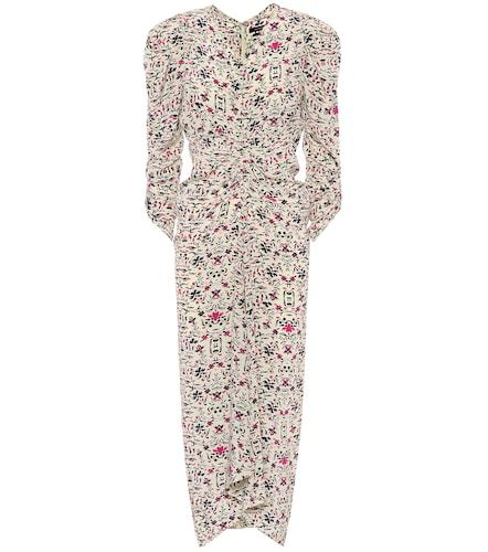 Robe Albi imprimée en soie - Isabel Marant - Modalova
