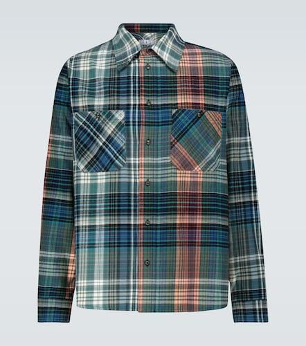 Chemise en flanelle à carreaux - Off-White - Modalova
