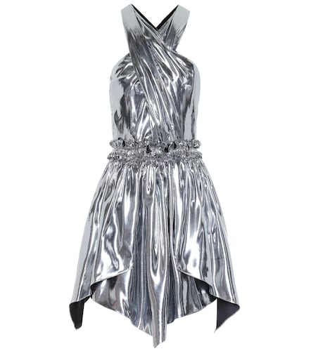 Robe Kary en soie mélangée métallisée - Isabel Marant - Modalova