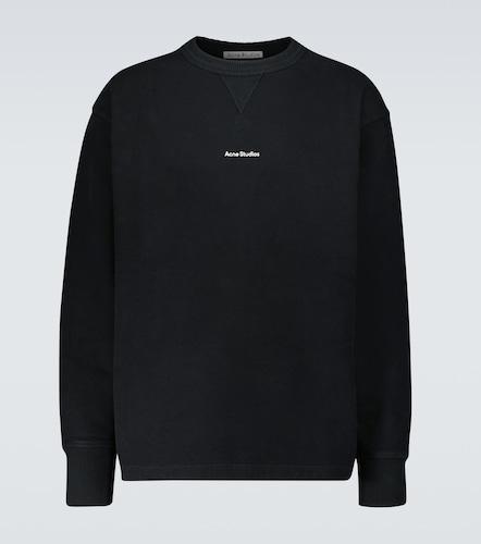Sweat-shirt en coton à logo - Acne Studios - Modalova