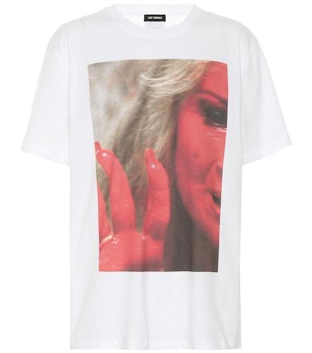 T-shirt imprimé en coton - Raf Simons - Modalova