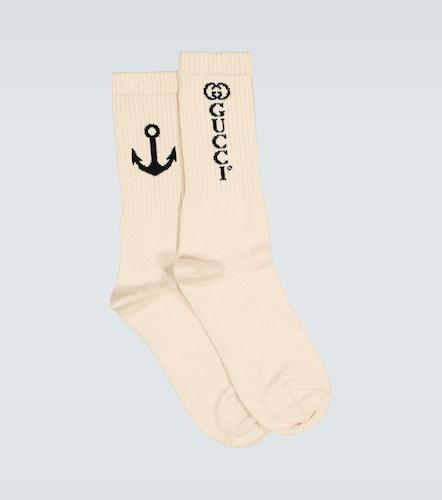 Chaussettes à logo GG - Gucci - Modalova