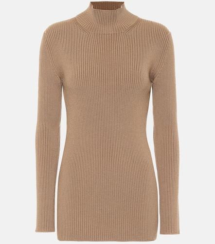 Pull en laine mélangée - Prada - Modalova