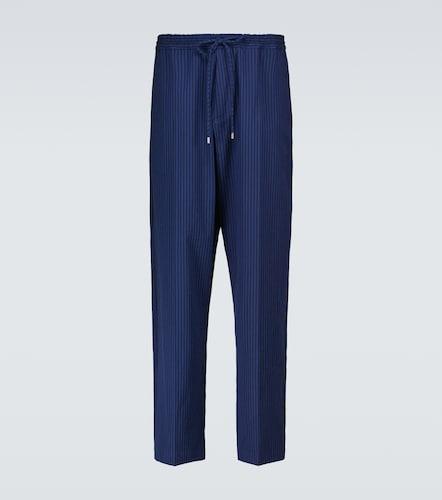 Pantalon en coton mélangé - Lanvin - Modalova