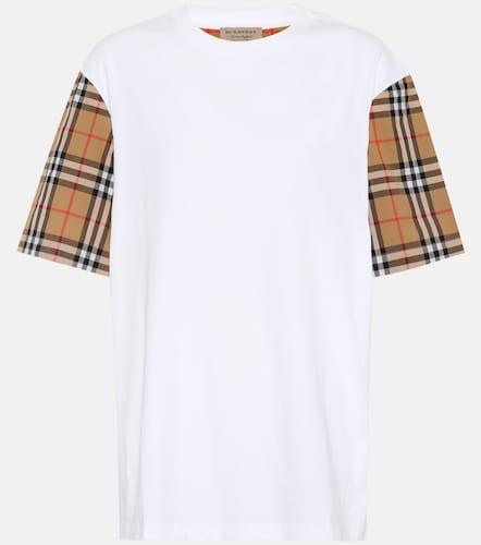 T-shirt Vintage Check imprimé en coton - Burberry - Modalova