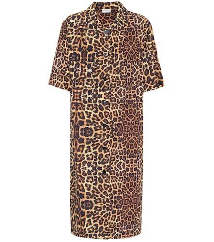 Robe chemise imprimée en coton - Dries Van Noten - Modalova