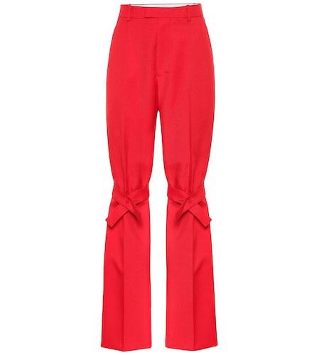 Pantalon droit à taille haute - Bottega Veneta - Modalova