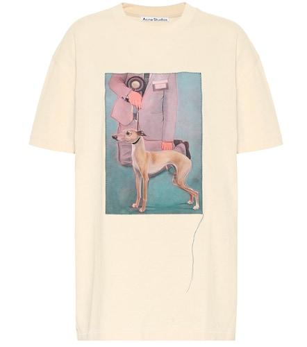 T-shirt imprimé en coton - Acne Studios - Modalova