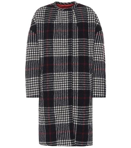 Manteau réversible en laine à carreaux Harrison - Isabel Marant - Modalova