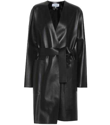 Manteau en cuir - Loewe - Modalova