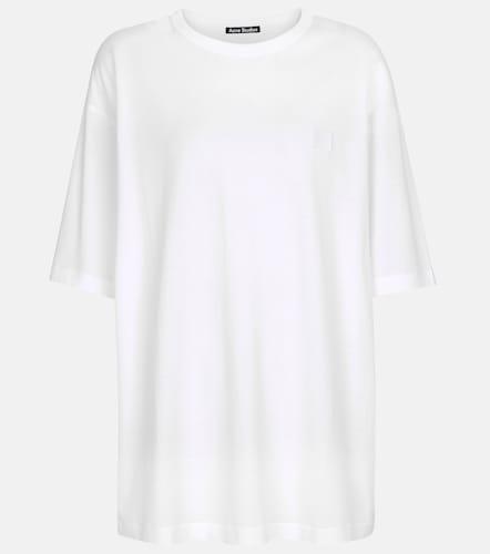 T-shirt Face en coton - Acne Studios - Modalova