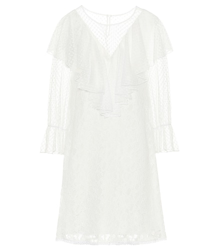 Robe en dentelle de coton mélangé - See By Chloé - Modalova