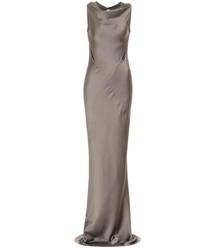 Robe longue Skorpio en satin - Rick Owens - Modalova
