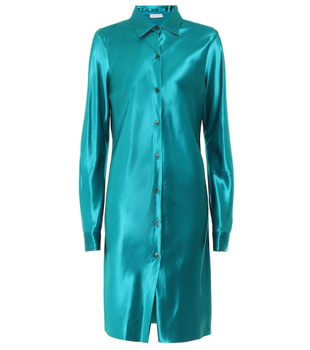 Robe chemise en satin - Dries Van Noten - Modalova