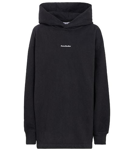 Sweat-shirt à capuche en coton à logo - Acne Studios - Modalova