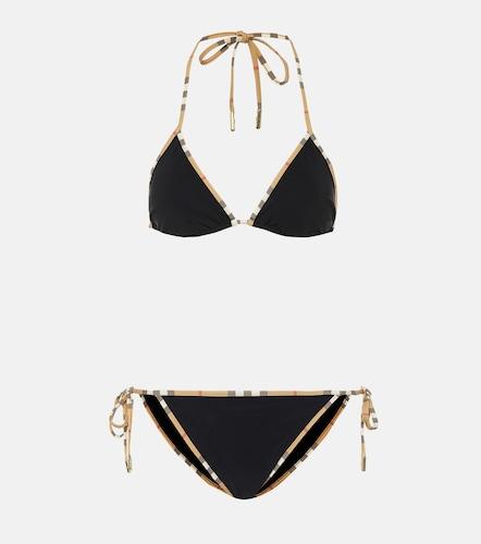Bikini Vintage Check triangle - Burberry - Modalova