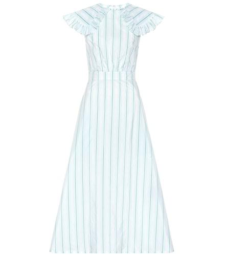 Robe rayée en soie et coton mélangés - Calvin Klein 205W39NYC - Modalova