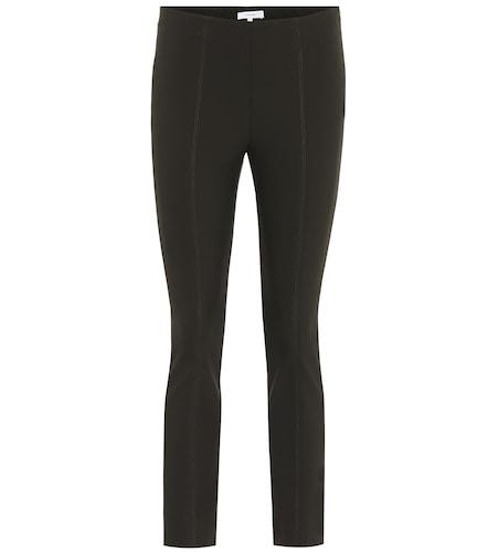 Pantalon en coton mélangé à taille haute - Vince - Modalova