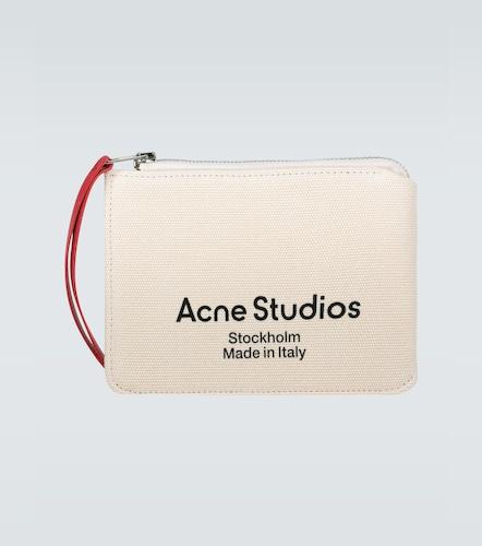 Pochette Malachite en toile - Acne Studios - Modalova