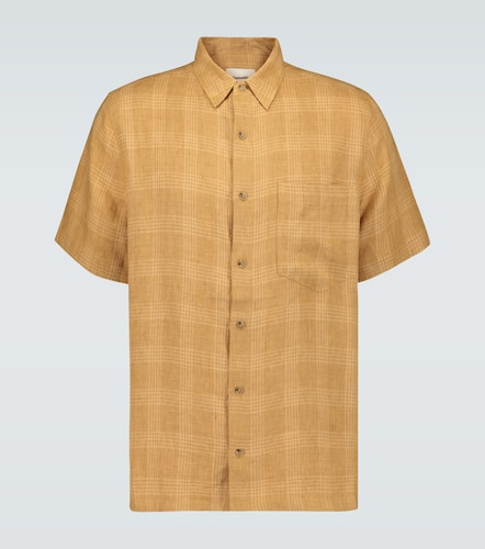 Chemise Adam en lin à carreaux - Nanushka - Modalova