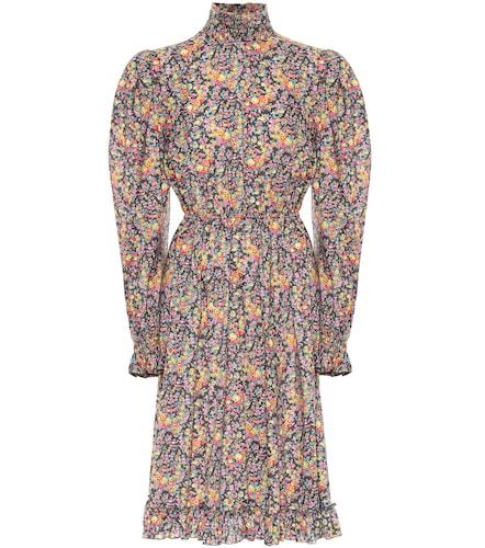 Robe en coton à fleurs - Philosophy di Lorenzo Serafini - Modalova