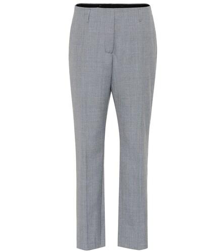Pantalon droit en laine mélangée - Dries Van Noten - Modalova