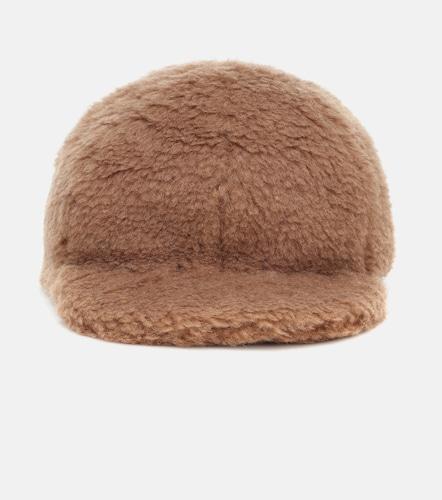 Casquette Editto en laine de chameau et soie - Max Mara - Modalova