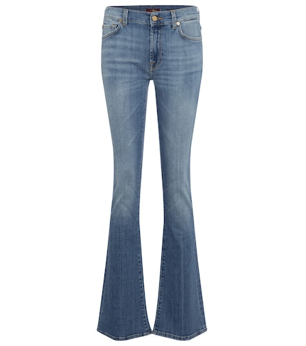 Jean flare YR2000 à taille mi-haute - 7 For All Mankind - Modalova