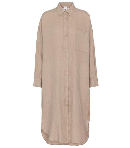 Robe chemise midi Leisure Procida en lin - Max Mara - Modalova
