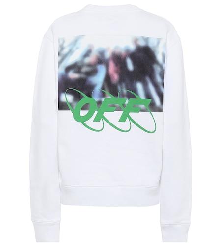 Sweat-shirt imprimé en coton - Off-White - Modalova