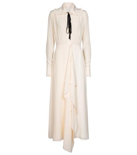 Robe longue en soie - Victoria Beckham - Modalova