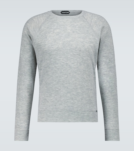 Sweat-shirt en cachemire - Tom Ford - Modalova