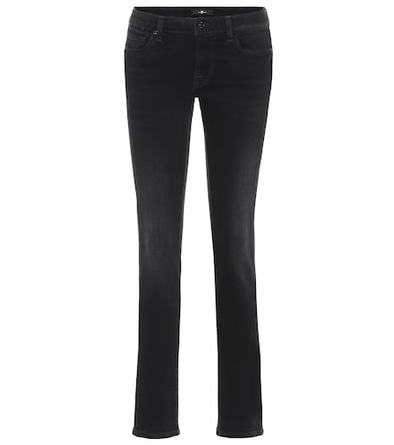 Jean slim Pyper à taille basse - 7 For All Mankind - Modalova