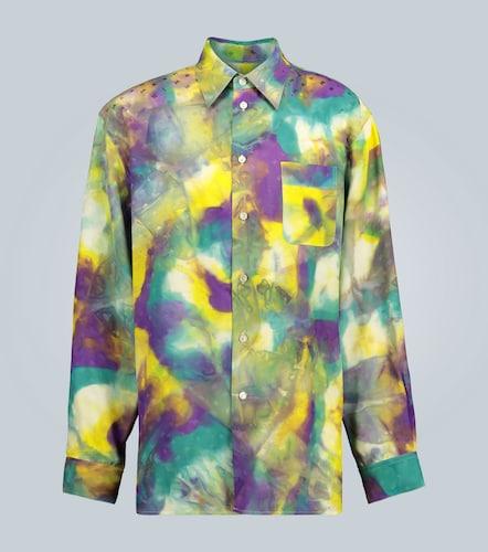 Chemise tie-dye avec logo - Marni - Modalova
