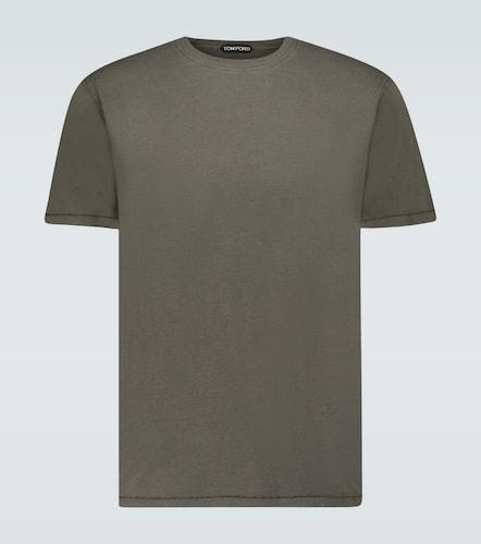 T-shirt en coton mélangé - Tom Ford - Modalova