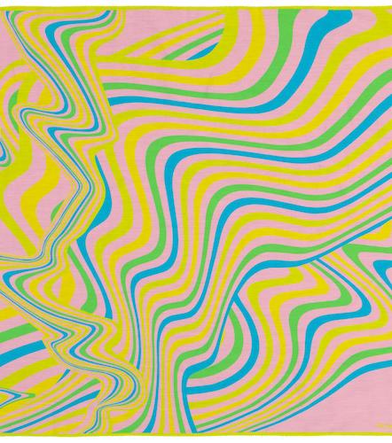 Foulard imprimé en coton et soie - Acne Studios - Modalova
