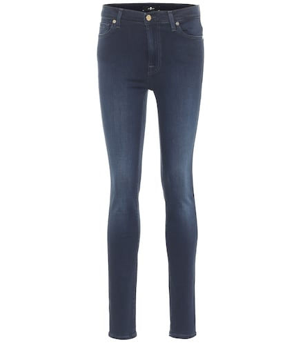 Jean skinny Slim Illusion Luxe à taille haute - 7 For All Mankind - Modalova
