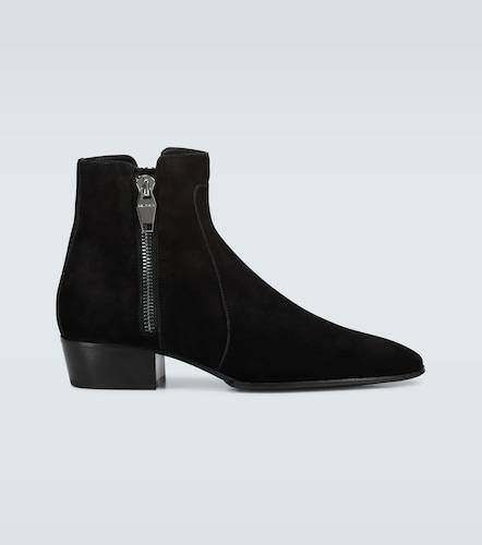 Bottines Anthos en suède - Balmain - Modalova