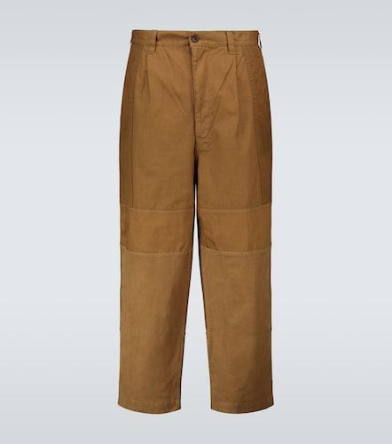 Pantalon raccourci en coton - COMME DES GARÇONS HOMME - Modalova