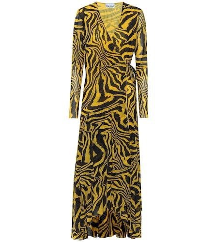 Exclusivité Mytheresa – Robe portefeuille imprimée - GANNI - Modalova