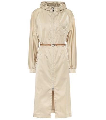 Veste en nylon à capuche - Prada - Modalova