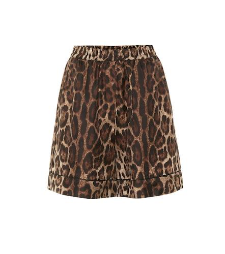 Short en soie imprimée - Dolce & Gabbana - Modalova