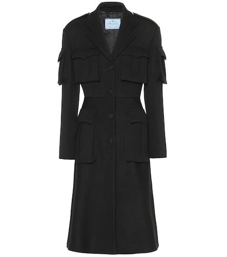 Manteau en laine vierge - Prada - Modalova