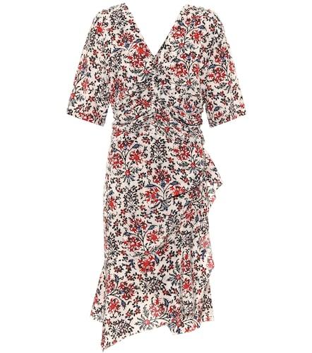 Robe Arodie imprimée en soie mélangée - Isabel Marant - Modalova