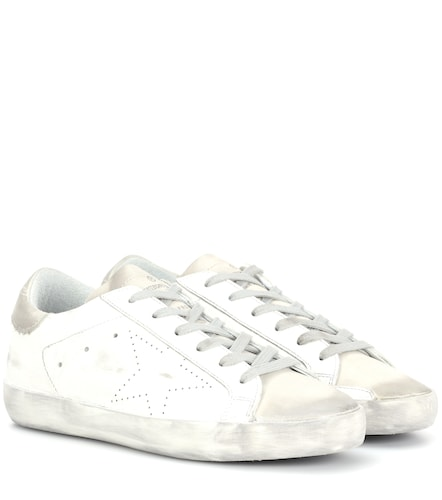 Baskets Superstar en cuir - Golden Goose - Modalova