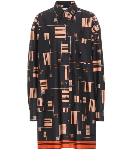 Robe chemise en coton imprimé - Dries Van Noten - Modalova