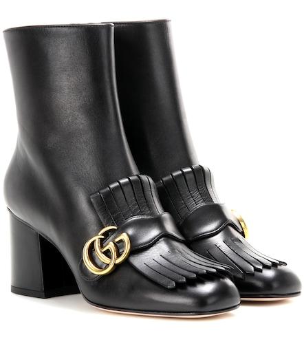 Bottines Marmont en cuir - Gucci - Modalova