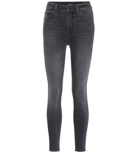 Jean skinny Aubrey à taille haute - 7 For All Mankind - Modalova