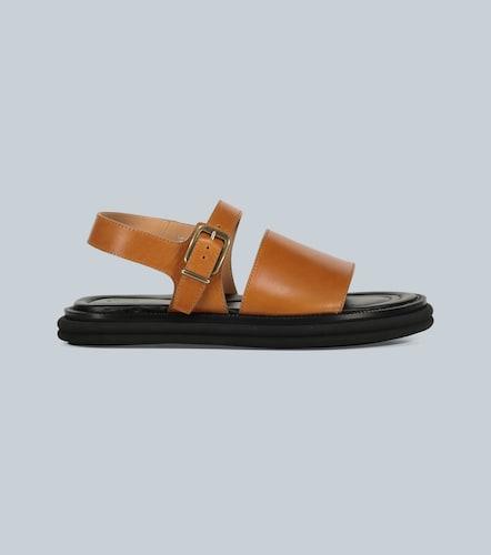 Sandales en cuir - Dries Van Noten - Modalova