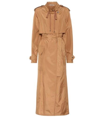 Manteau en soie mélangée - Bottega Veneta - Modalova